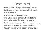 3 white papers
