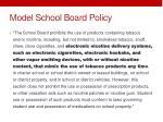 model school board policy
