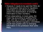 paos obligations to members cont d1