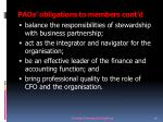 paos obligations to members cont d23
