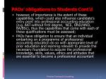 paos obligations to students cont d1