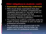 paos obligations to students cont d10