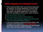 paos obligations to students cont d2