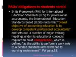 paos obligations to students cont d4