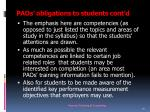 paos obligations to students cont d7