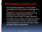 paos obligations to students cont d8