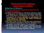 professional accountancy organisations paos