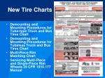 new tire charts