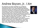 andrew boysen jr i am2