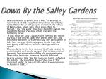 down by the salley gardens1