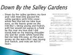 down by the salley gardens2
