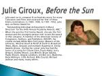 julie giroux before the sun2
