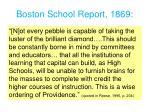 boston school report 1869