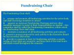 fundraising chair