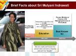 brief facts about sri mulyani indrawati