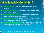 hub template contents 2