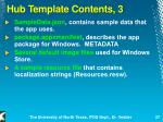 hub template contents 3