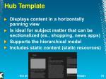 hub template