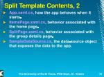 split template contents 2