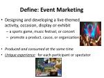 define event marketing