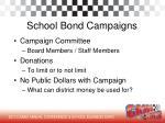 school bond campaigns