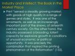 industry and intellect the book in the market place1