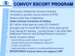 convoy escort program