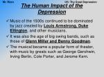 the human impact of the depression14