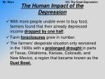 the human impact of the depression6