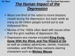 the human impact of the depression9