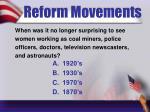 reform movements10