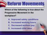 reform movements2