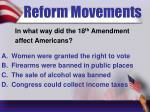 reform movements3