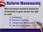reform movements5