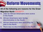 reform movements7