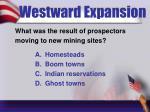 westward expansion1