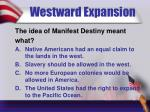 westward expansion8