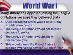 world war i5