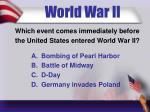 world war ii9