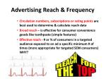 advertising reach frequency1