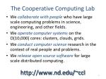 the cooperative computing lab1