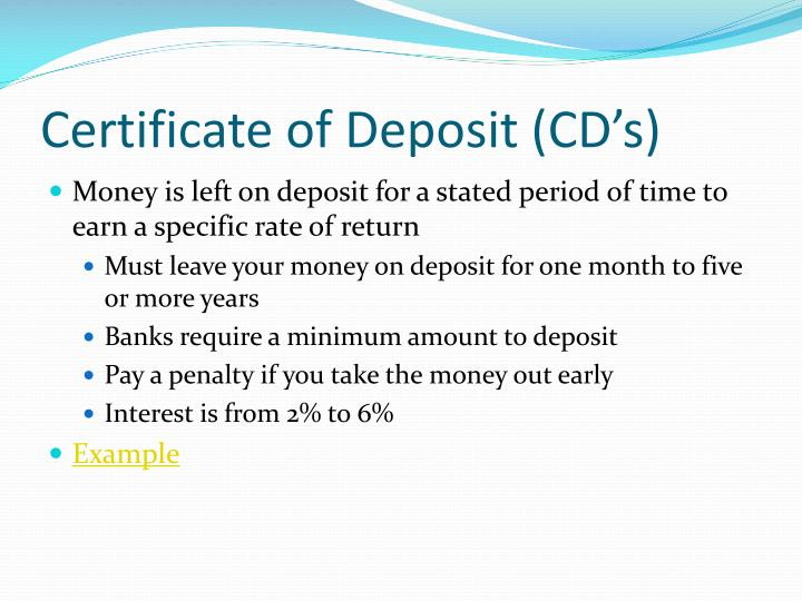 Ppt Common Savings Accounts Powerpoint Presentation Id1678294