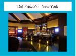 del frisco s new york1