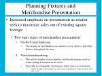 planning fixtures and merchandise presentation1