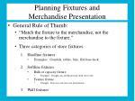 planning fixtures and merchandise presentation2