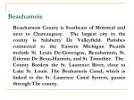 beauharnois
