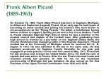 frank albert picard 1889 19631