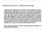 gabriel picard a mental image