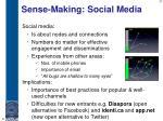 sense making social media