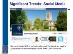 significant trends social media2